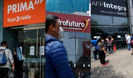 Este martes vence plazo para solicitar hasta 17.600 soles de las AFPs