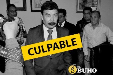 Arequipa: Exalcalde Alfredo Zegarra condenado a cuatro años de prisión suspendida