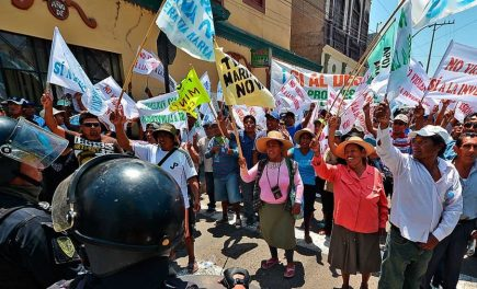 Gobierno de Castillo tendrá que resolver 80 conflictos socioambientales