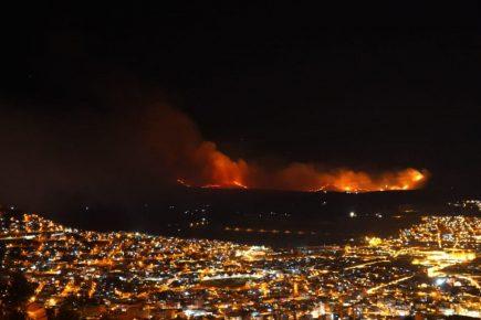 Cusco: Piden declarar emergencia por incendio forestal en Quispicanchi