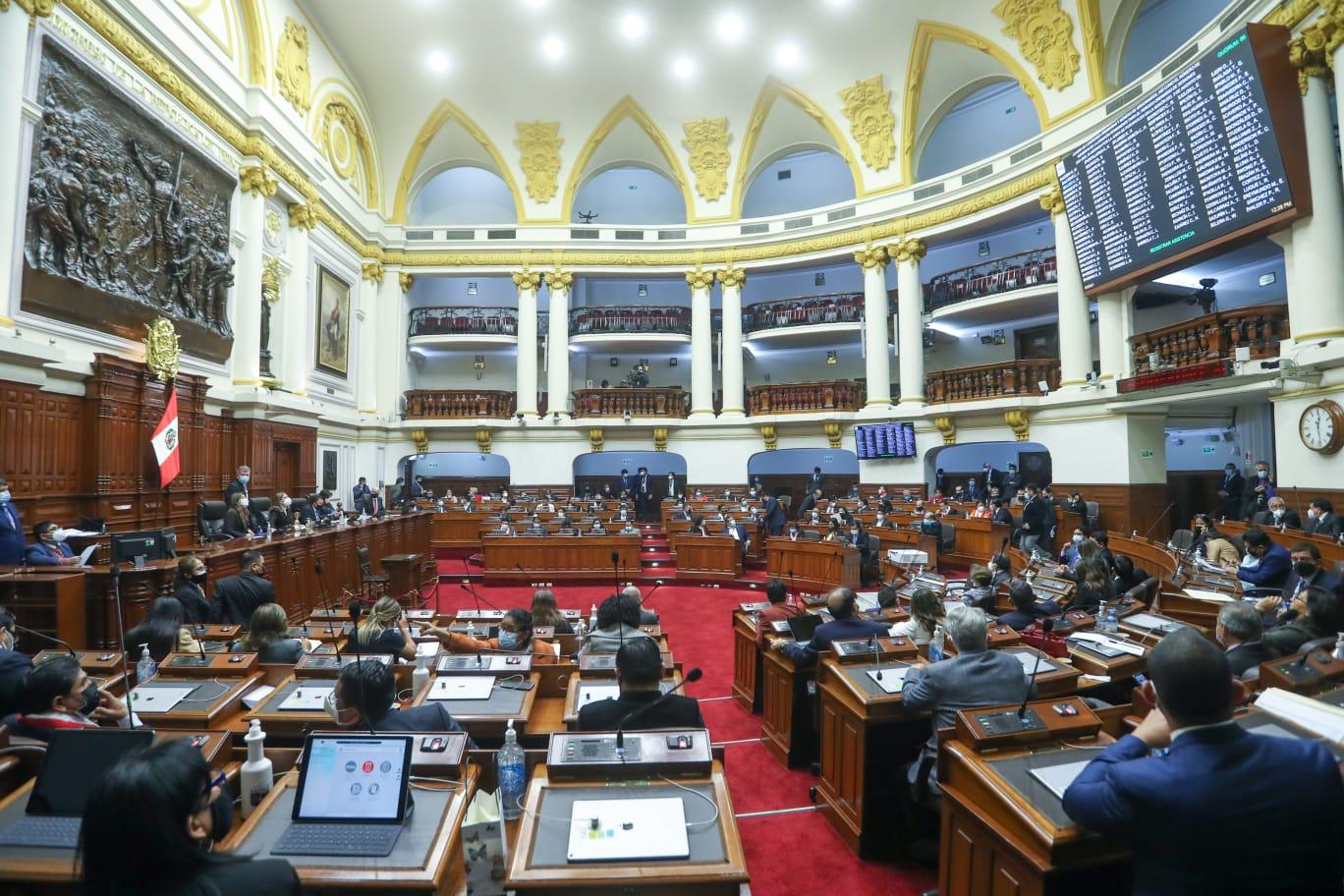 Fuerza Popular presidirá Comisión de Constitución y Perú Libre de Ciencia e Innovación entre otras