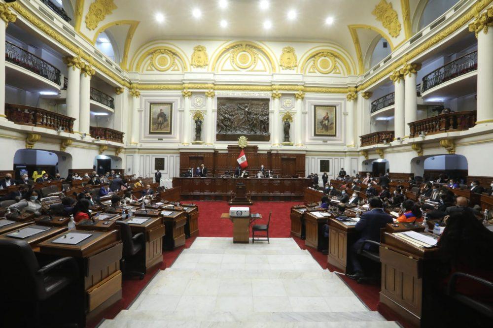 Congreso debate 4 mociones políticas y solo una por pedido de la población