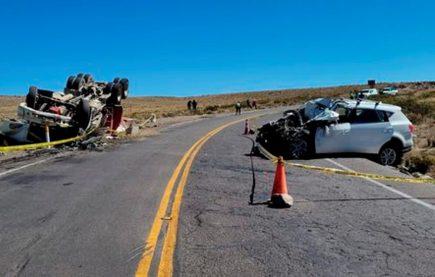 Más de 500 víctimas en accidentes de carreteras durante 2014 en Arequipa