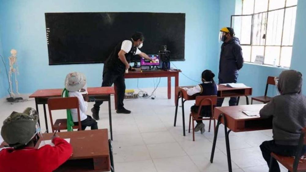 Arequipa: aumentan a 1 333 los colegios habilitados para clases semipresenciales