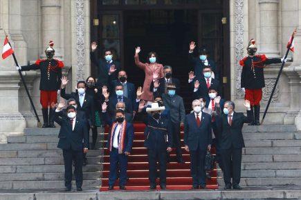 Voto de confianza: Presidente Pedro Castillo acompaña a Gabinete hacia el Congreso (EN VIVO)
