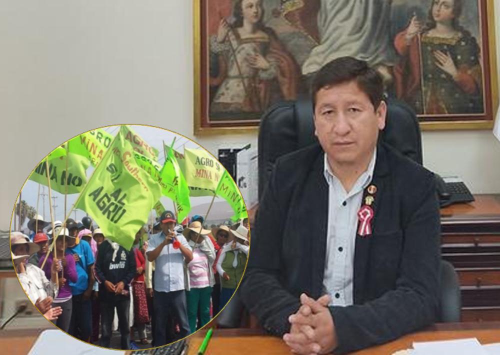 Arequipa: premier Guido Bellido niega viaje a Valle de Tambo por Tía María