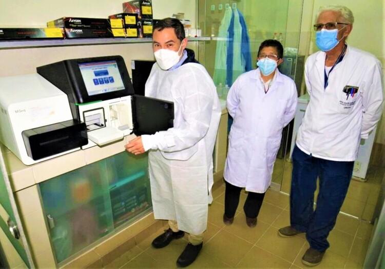 Arequipa: laboratorio UNSA inicia secuenciamiento genómico de muestras positivas covid-19