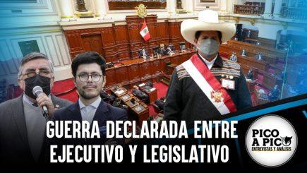 Pico a Pico: Colisión inminente entre Ejecutivo y Legislativo