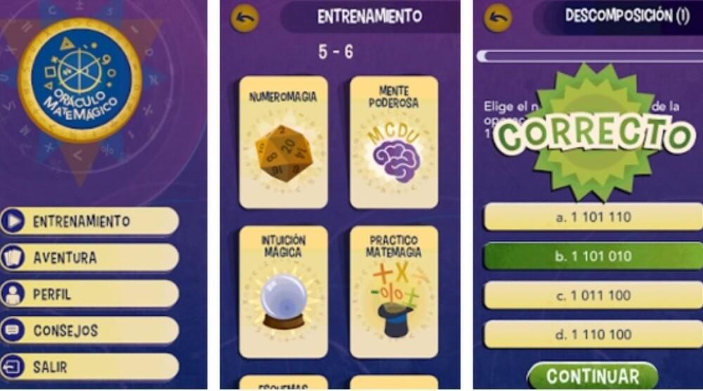 Oráculo Matemágico: La app de Aprendo en Casa que no necesita internet