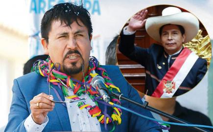 """Gobernador de Arequipa a Pedro Castillo: """"Deje posturas radicales y modérese"""""""
