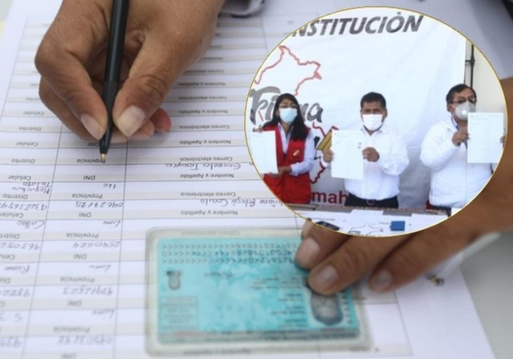 Perú Libre proyecta recolectar 250 mil firmas en Arequipa para Asamblea Constituyente