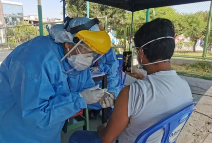 Arequipa: aplicarán vacuna Pfizer a rezagados mayores de 18 años este jueves