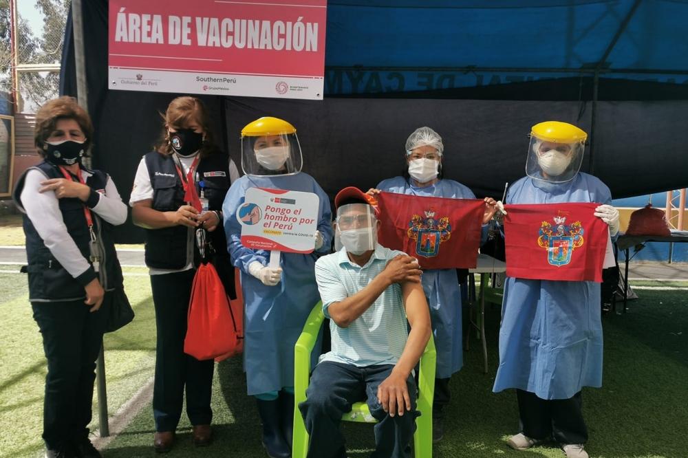 En Arequipa no se alcanzó la meta de vacunar a 30 mil persona. Foto: Geresa Arequipa