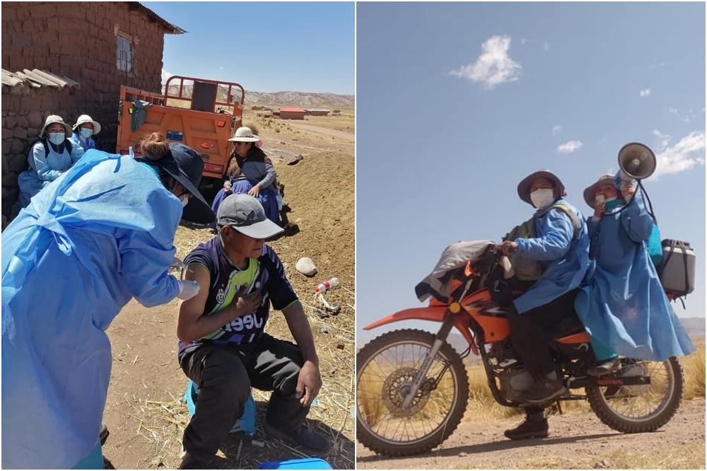 En Arequipa, Puno y Piura no se superó meta trazada en vacunatón