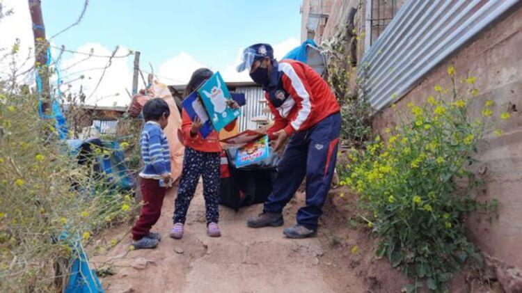 Cusco: Municipalidad de Poroy innova con Chasqui Libro, la biblioteca delivery