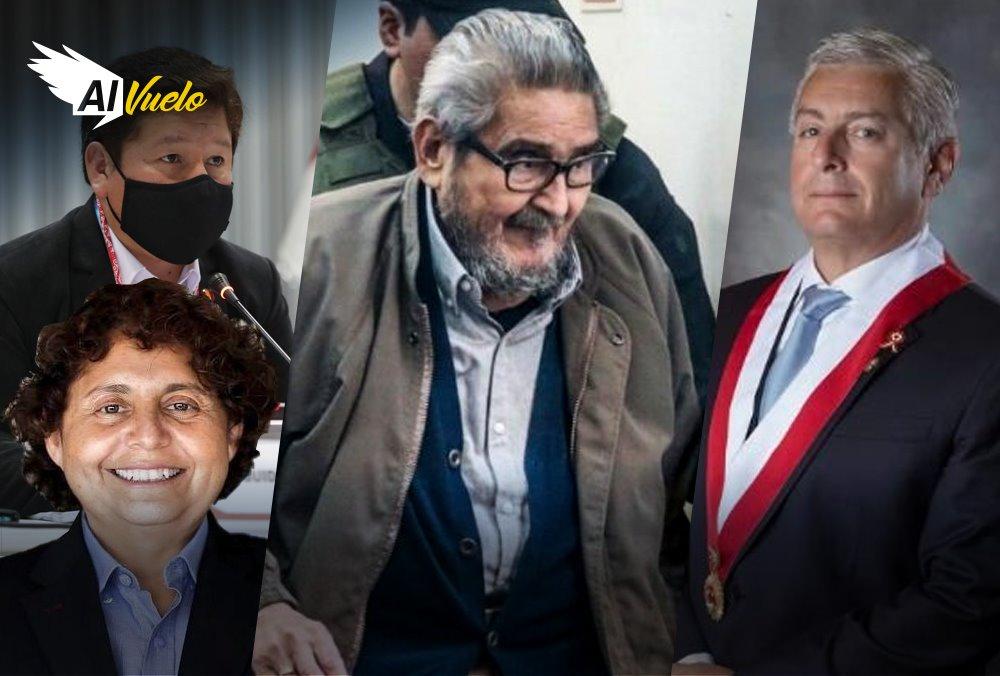 Abimael Guzman, Guido Bellido, Susel Paredes
