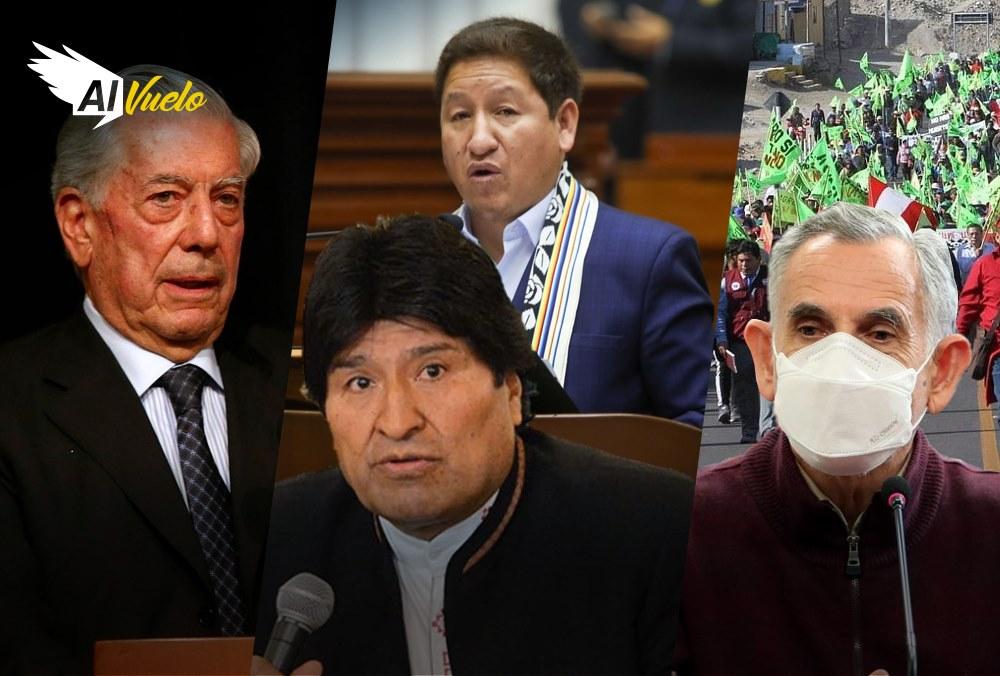 Arequipa Evo Morales Vladimir Cerron Guido Bellido