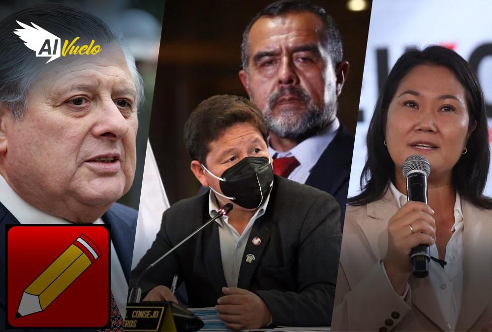 Iber Maraví responde y congresistas buscan firmas para censura  |  Al Vuelo