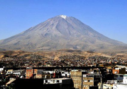 Arequipa: evalúan impacto de erupción del Misti para distrito de Mariano Melgar