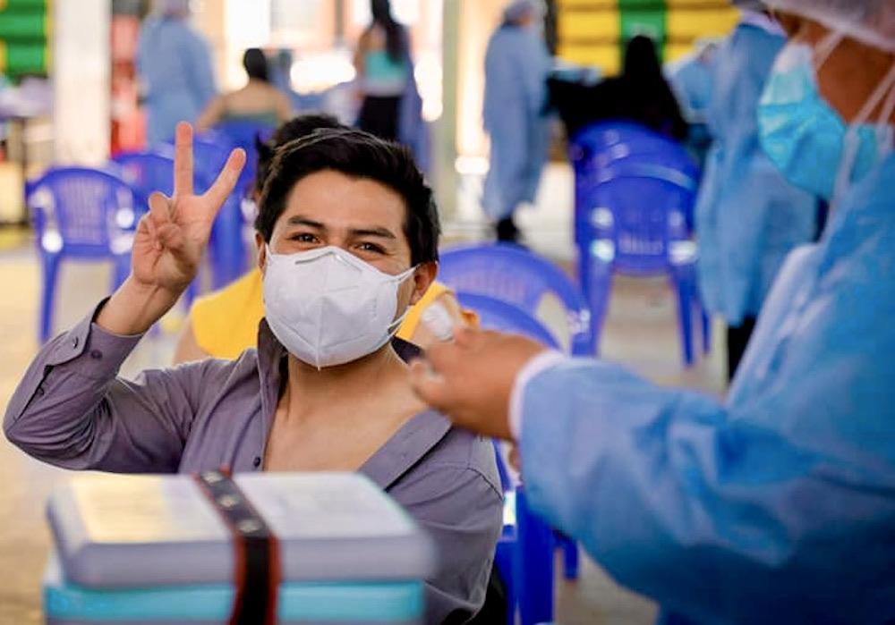 arequipa vacunación universitarios estudiantes de institutos