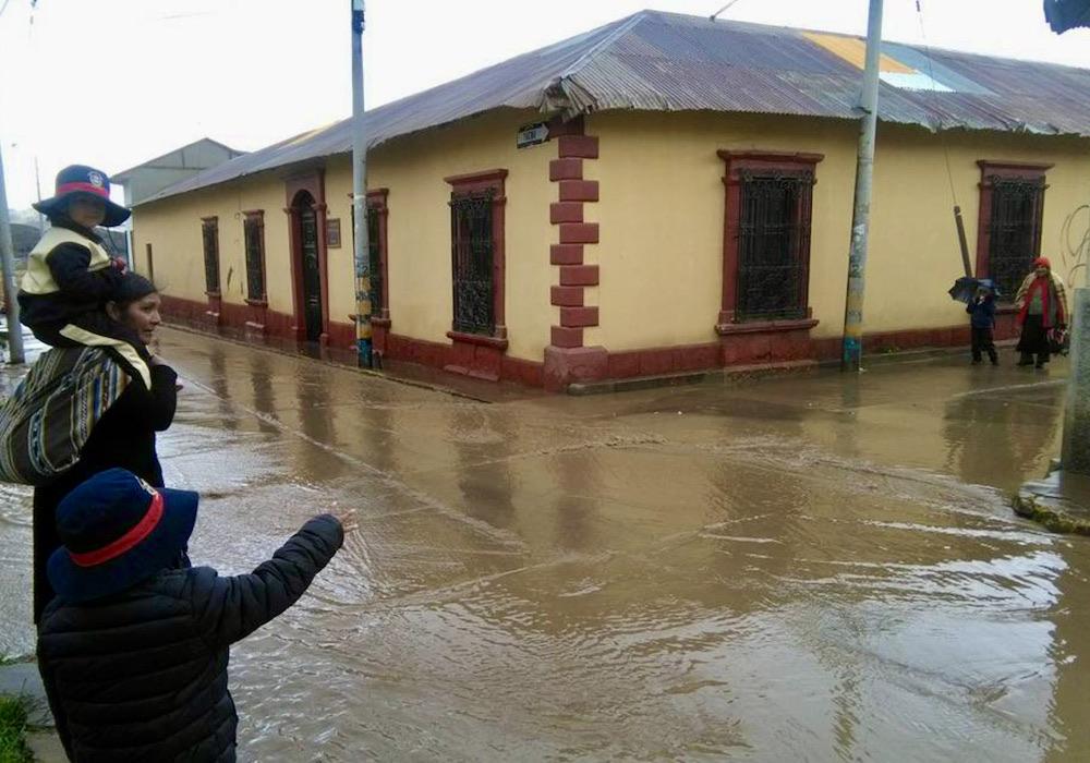 arequipa precipitaciones lluvias referencial