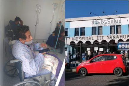 Arequipa: asegurados de Essalud pasan drama para conseguir atención médica