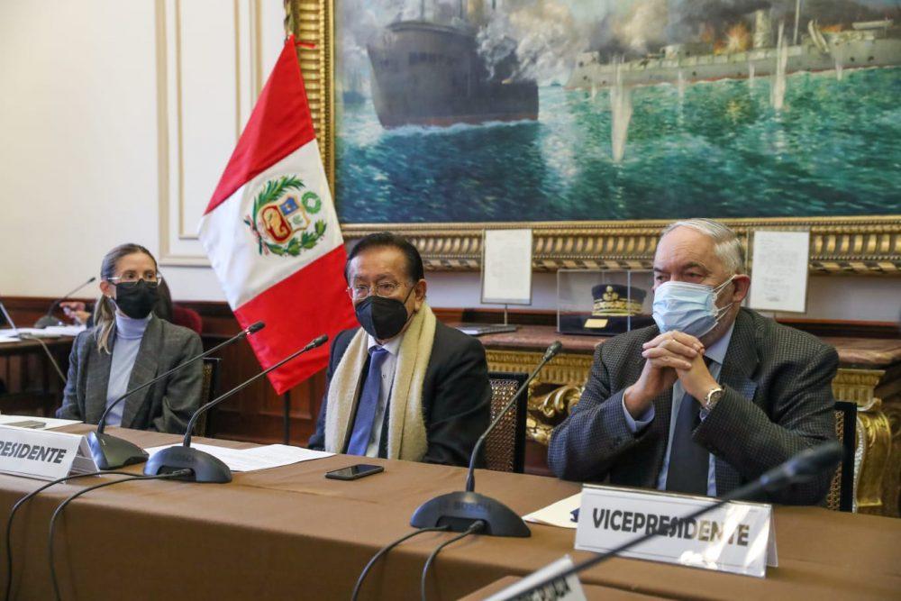 José Balcázar de Perú Libre es elegido presidente de Comisión especial del TC