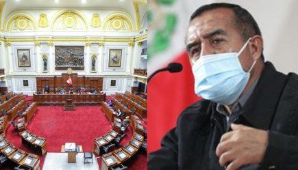 Congreso aprueba interpelar a ministro de Trabajo Iber Maraví