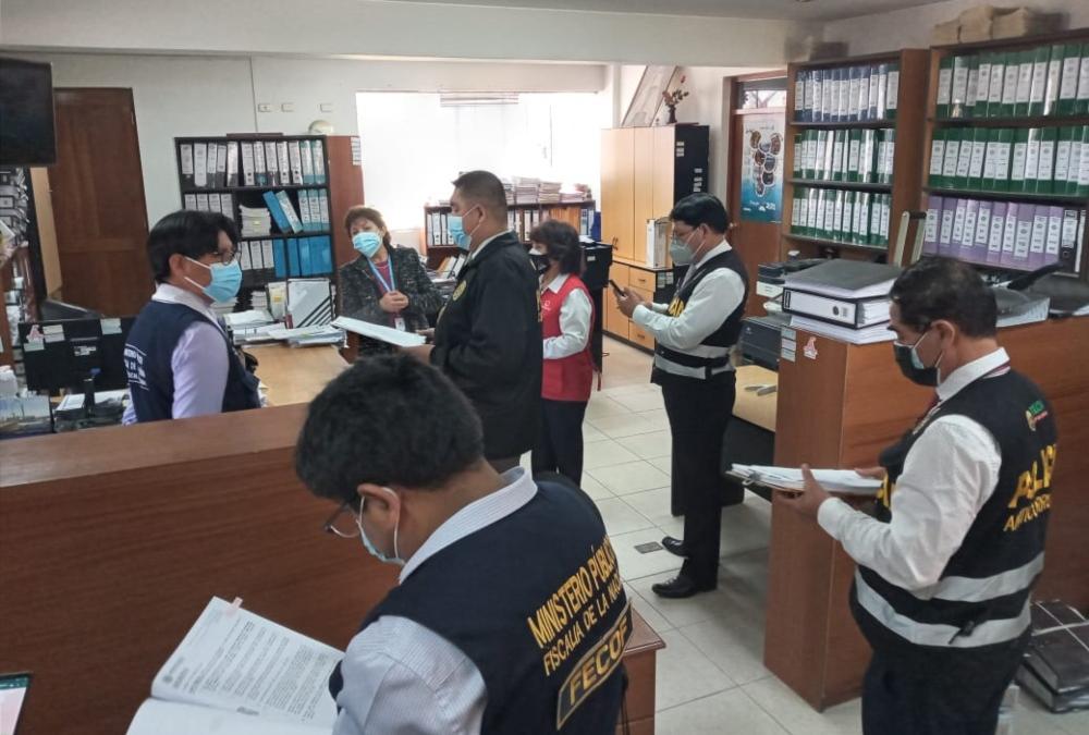 Fiscalía interviene Gobierno Regional de Arequipa por caso Jardín del Colca