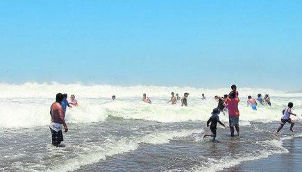 Uso de playas en todo el litoral del país está permitido desde este lunes
