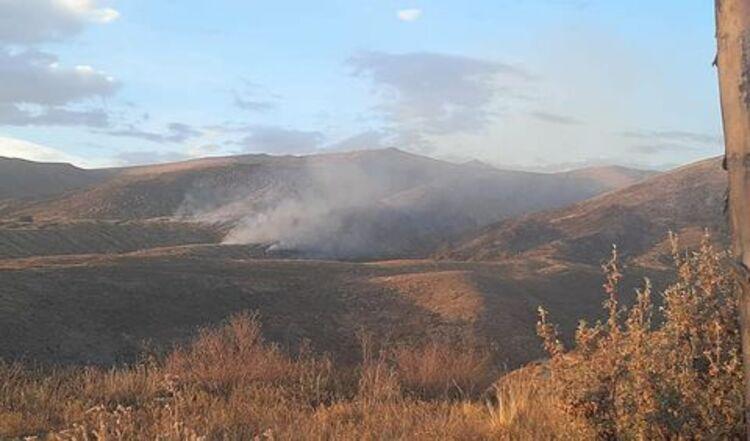 Incendio forestal Chiguata Arequipa
