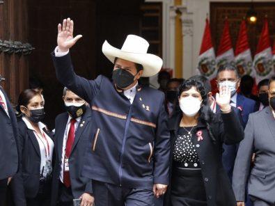 Presidente Castillo realiza primer viaje internacional a México y Estados Unidos este viernes