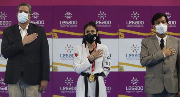 Juegos paralímpicos, Angelica Espinoza.