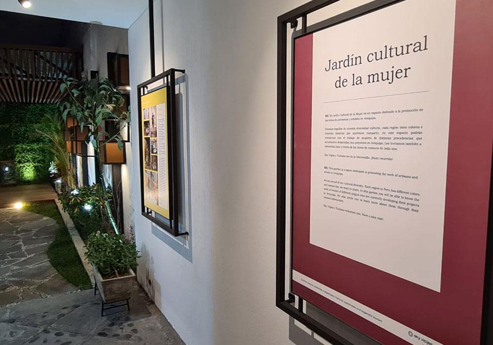 """Arequipa: artistas arequipeñas participarán del """"Jardín Cultural de la Mujer"""""""