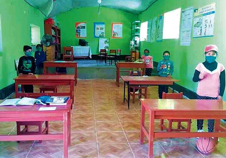 Arequipa: I.E. Valle Arriba es el primer colegio en Islay en solicitar clases semipresenciales