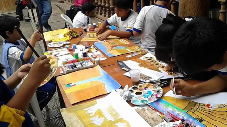 concurso de dibujo y pintura: retratando la trata