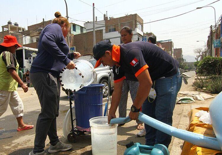 Arequipa: conoce dónde estarán cisternas, tras corte de agua en 3 distritos por rotura de tubería