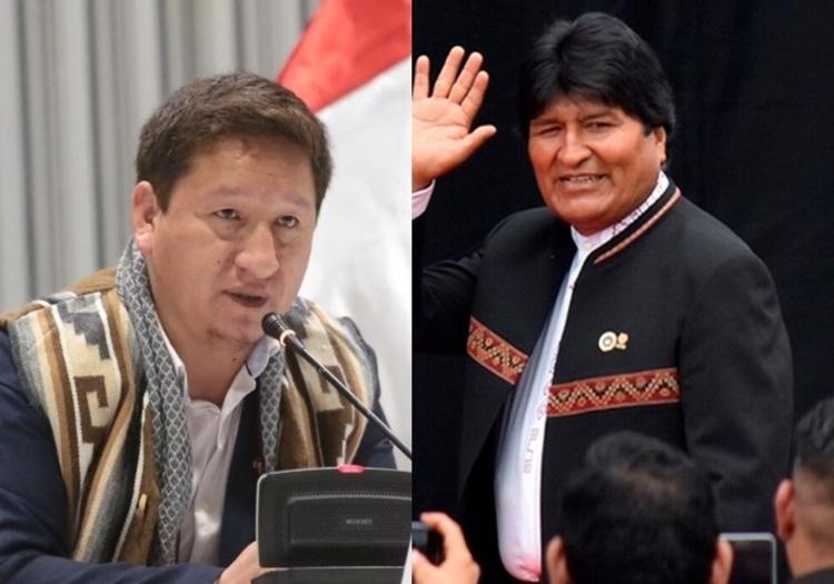 Evo Morales y Guido Bellido llegan este sábado a Arequipa, para evento de Perú Libre