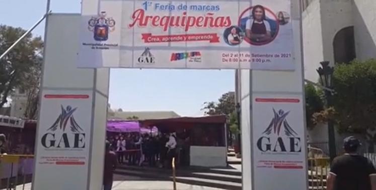 I feria de marcas arequipeñas (Arequipa)