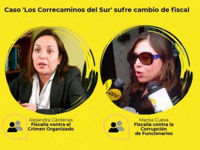 Los Correcaminos del sur: competencia de fiscales del caso se resolverá en Lima