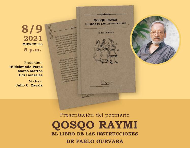 Presentan libro Qosqo Raymi de Pablo Guevara