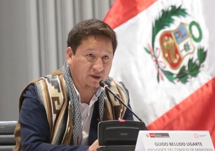 Premier Bellido llegará 12 de octubre a Arequipa, tras pedido de transferir pago de Cerro Verde