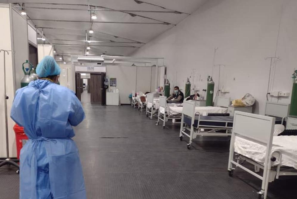 Hospital covid Arequipa registra baja ocupación en UCI y Traumashock