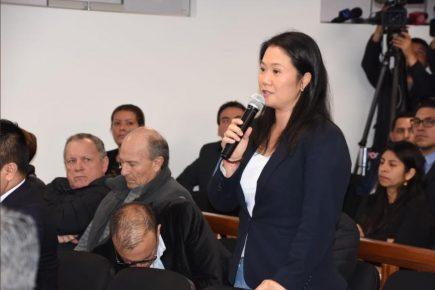 Prisión preventiva para Keiko Fujimori en manos de juez Concepción Carhuancho