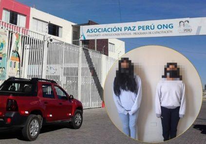 Arequipa: detienen a dos menores, tras muerte de cuidadora de albergue en Socabaya