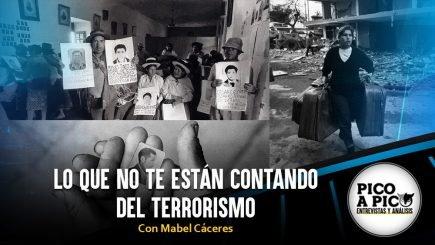 Pico a Pico: Lo que no te están contando del terrorismo en el Perú