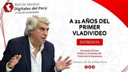 Red de Medios: A 21 años del primer vladivideo, con Fernando Olivera