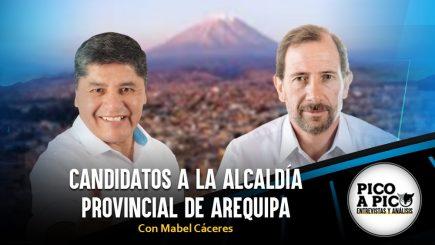 Pico a Pico: Las elecciones regionales y municipales en Arequipa