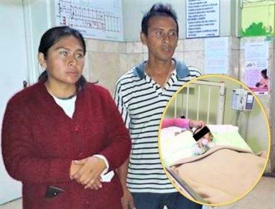 Acusan a hospital de Aplao por grave perforación de esófago de niño
