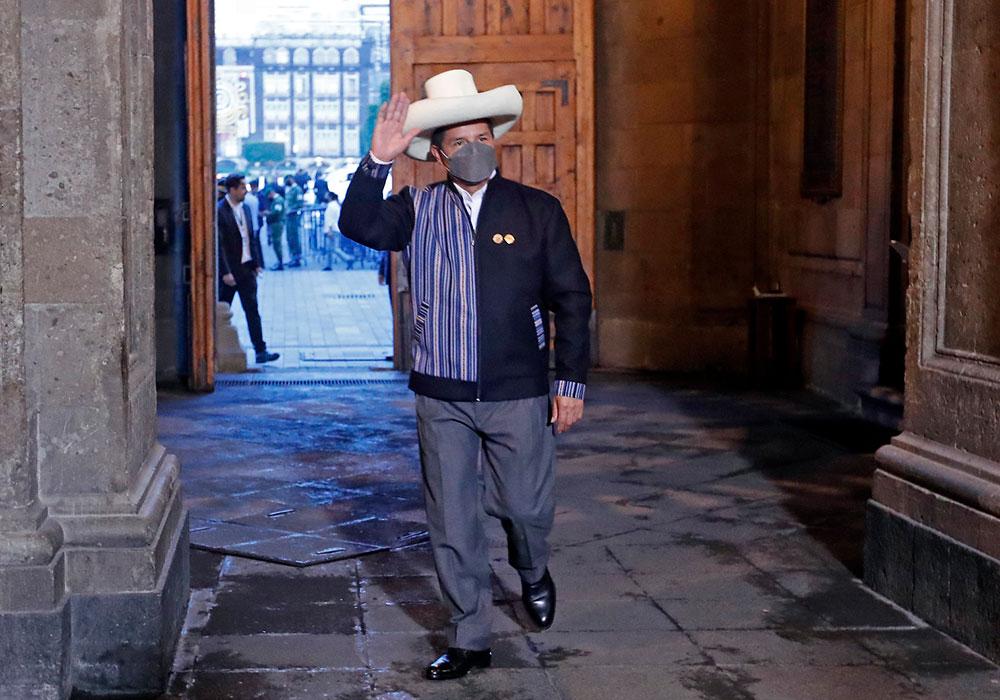Pedro Castillo celac